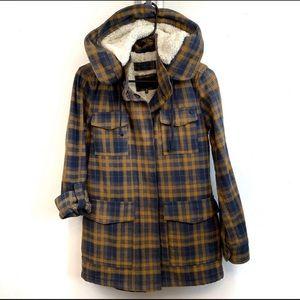 Women's Hurley Winston Sherpa Hood Jacket Size S